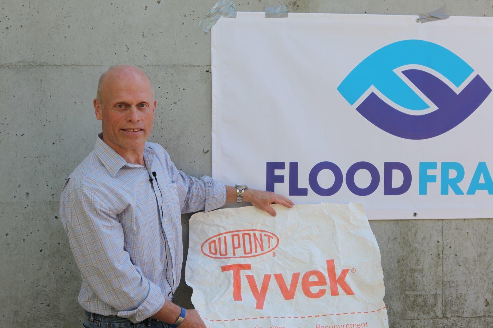 Per fra Dupont fortæller om sikring mod oversvømmelse med FloodFrame