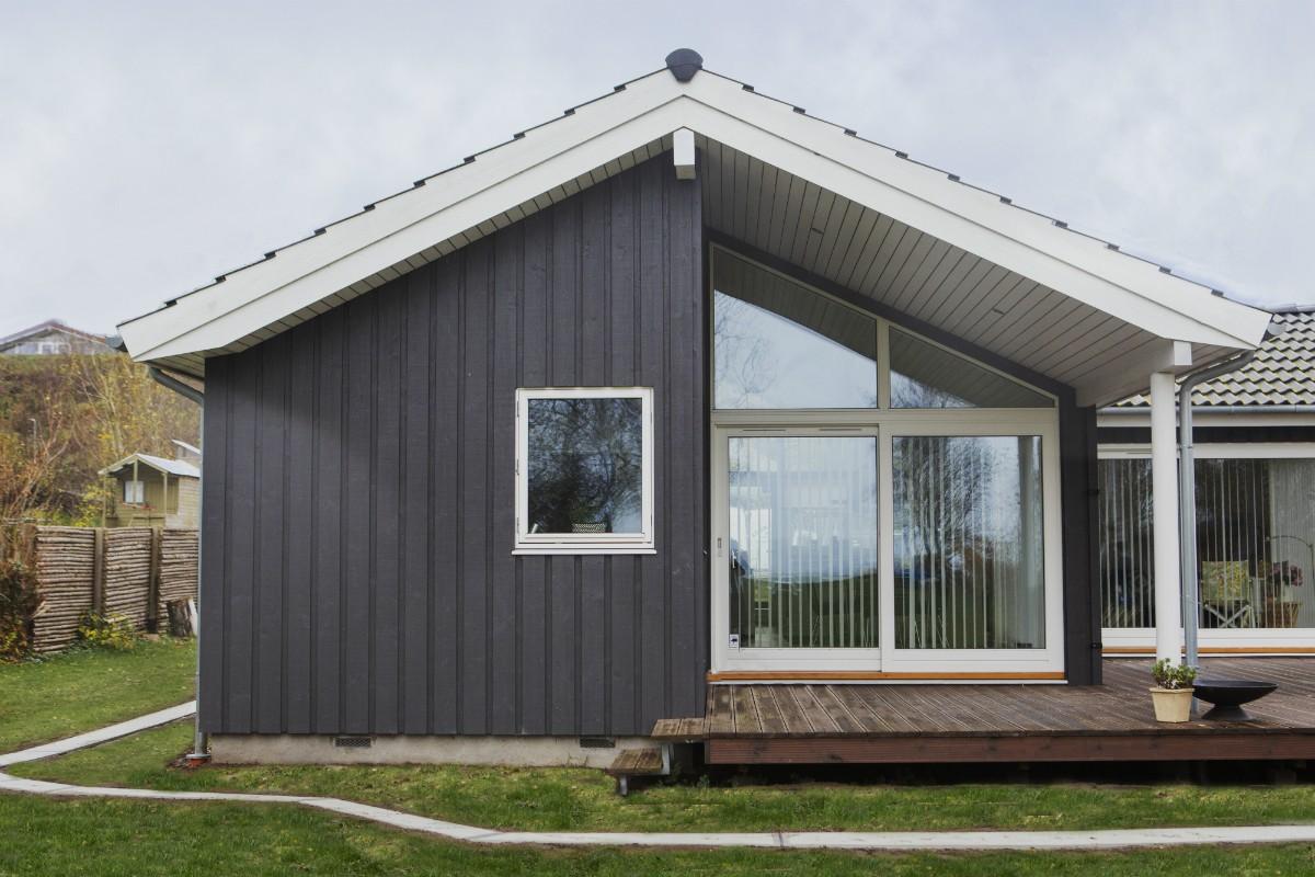 Kisserup Strand, Dänemark – Das Familiensommerhaus wurde überschwemmt